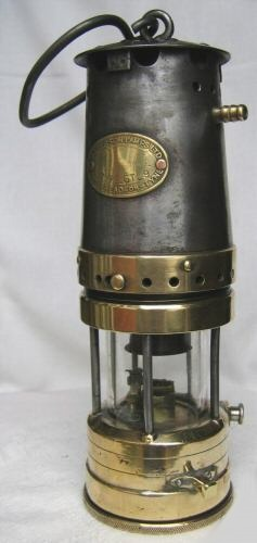 Miners' Davy Lamp and Carbide Lamp
